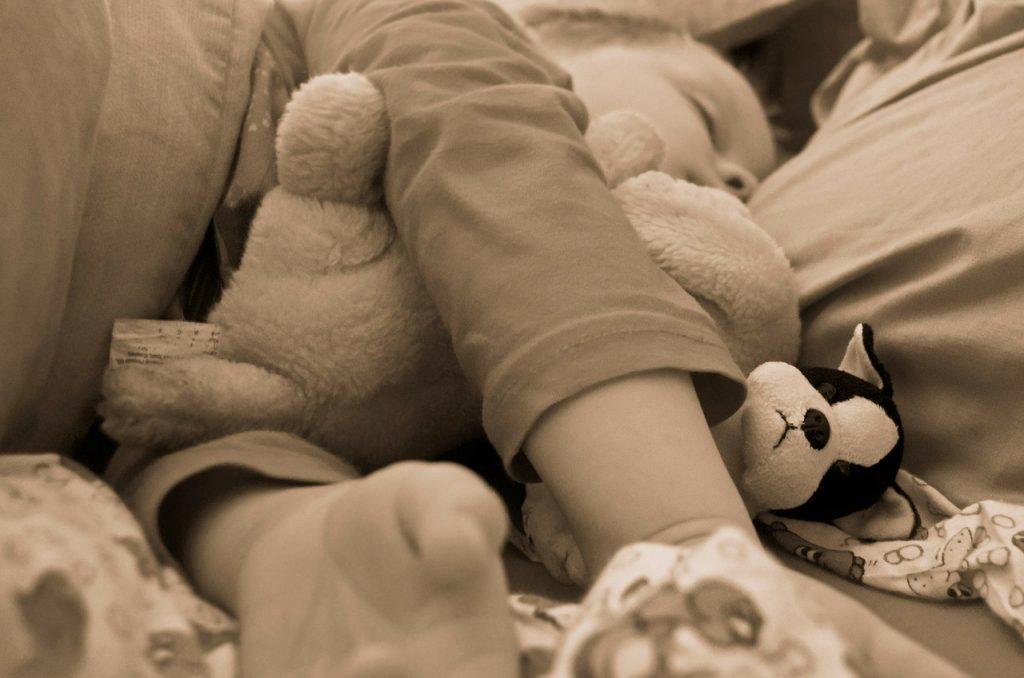 Enfant au sommeil agité